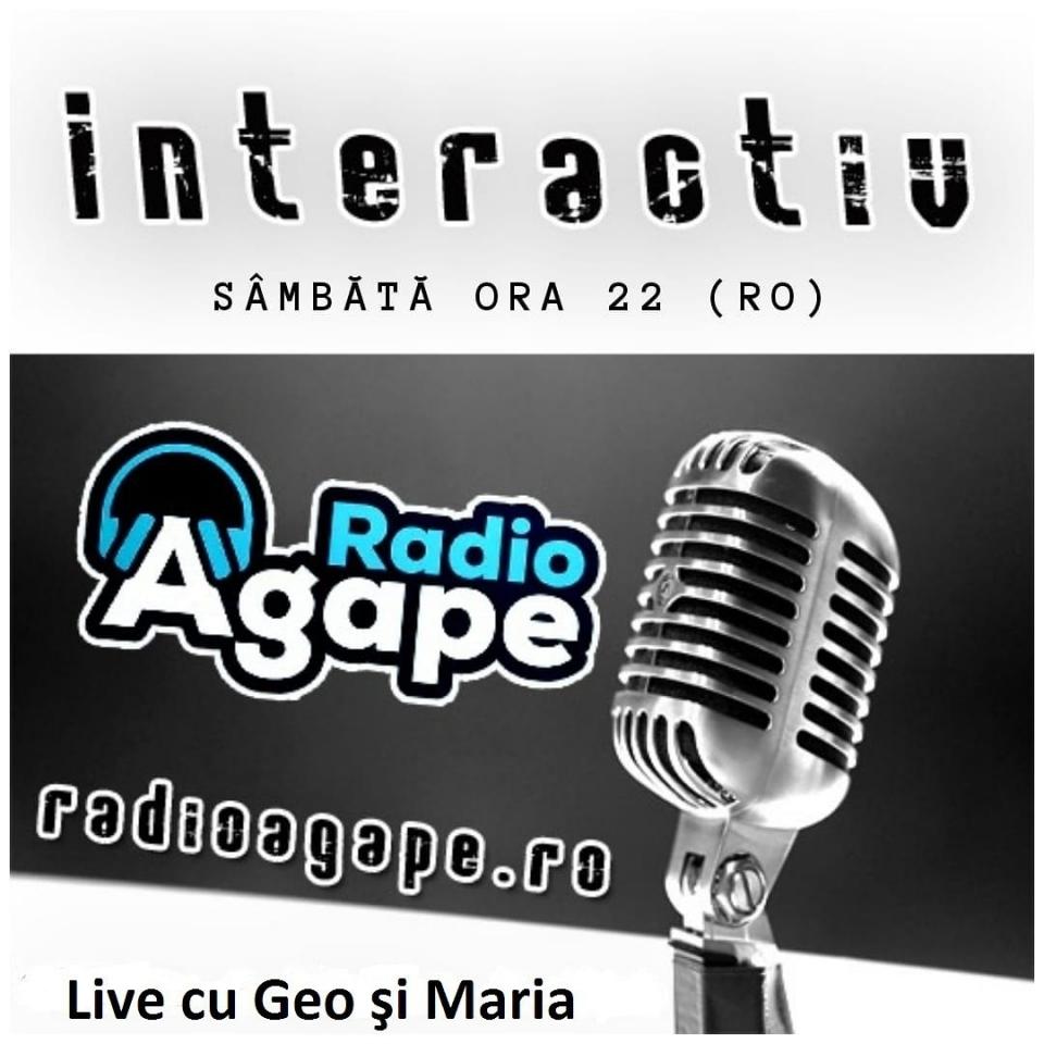 Ce influenţă poate avea moda în viaţa creştinului?De ce ne dorim să fim mereu în trend?Vino cu noi pe www.RadioAgape.ro ca să vorbim despre acest subiect, dar şi pentru a  împărtăşi împreună cu noi câteva gânduri!Geo şi Maria vă aşteaptă live Sâmbătă de la ora 22:00 (ora României)!Vă aşteptăm pe Chat - Telegram:t.me/radioagapeNe puteţi asculta pe Tunein:tun.in/sfmRtŞi pe Website-ul nostru:www.radioagape.ro